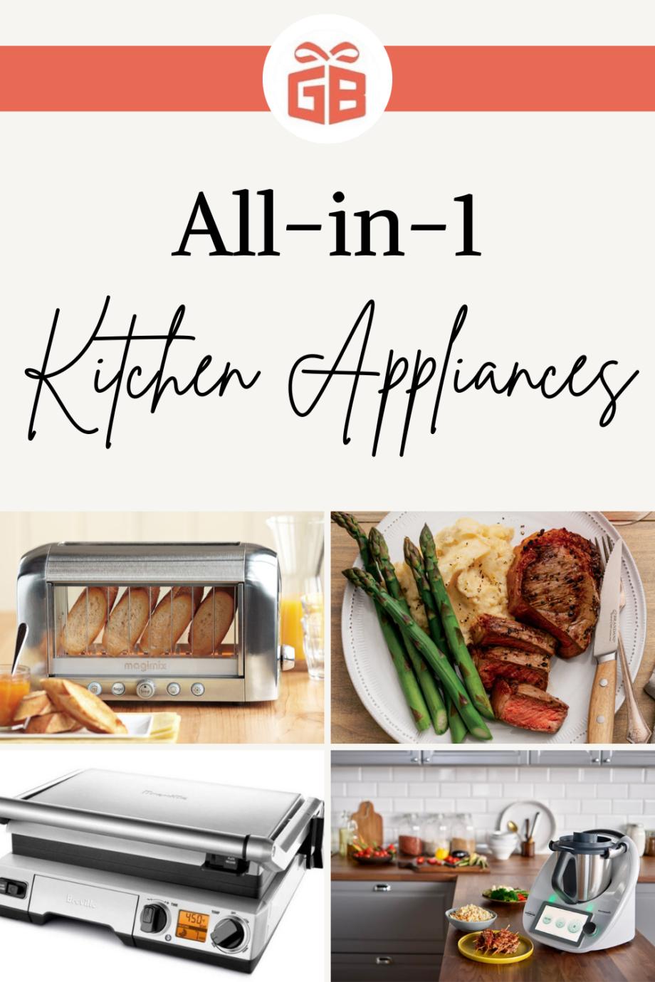 Kitchen Catch: Four Terrific All-in-1 Appliances
